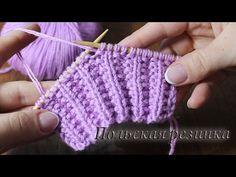Crochet Gloves Pattern, Knitting Videos, Sweater Knitting Patterns, Crochet Videos, Knitting Stitches, Crochet Patterns, Herringbone Stitch Tutorial, Crochet Hooded Scarf, Crochet Cable