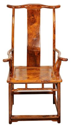 Two Chinese Huanghuali Official's Hat Armchairs✖️ART : CHINESE WOOD➕More Pins Like This At FOSTERGINGER @ Pinterest ✖️