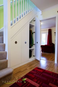 Under The Stairs Storage Solutions, access door from Avar Furniture