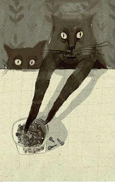 Alisa Yufa #cat #thisisntmycat #kitten #pets #cats #animals