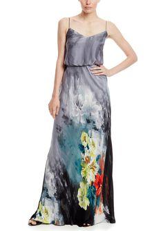 Green New Santiki Isadora Blue White Skirt Size Xl Gold