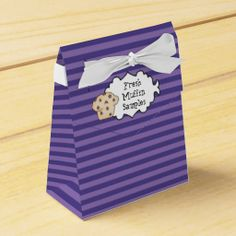Fresh Muffin Samples tent favor box