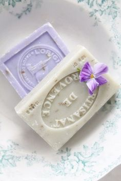 romance is in the air with pretty scented soaps