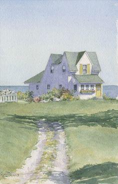 Maine Art..Karen McManus..September Summer