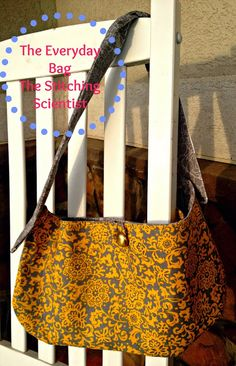 Cute bag, in less than an hour. Pattern and how-tos (nice photos) from The Stitching Scientist.