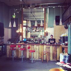 Reclamation. Salvage. Bar.  Brunswick House Cafe