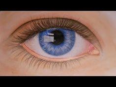 ▶ Tutorial - Auge zeichnen mit Buntstiften - YouTube