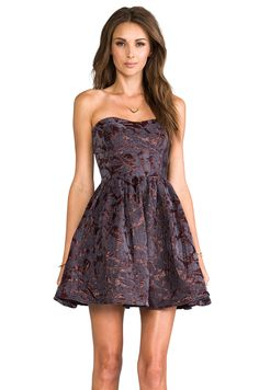 MM Couture by Miss Me Strapless Bustier Dress in Purple from REVOLVEclothing