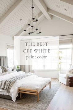 For a sophisticated, warm off white color, Benjamin Moore Swiss Coffee is a great choice! It's a warm, welcoming, light, and bright cream. Off White Paint Colors, Off White Paints, Off White Color, Best Interior Paint, Interior Paint Colors, Swiss Coffee Paint Color, Florida Decorating, Benjamin Moore, Decorating Ideas