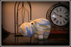 Crochet Hippo by Dandelion Daze, pattern by Fugly Crochet