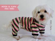 Patrones de pijama para perro   Mimi y Tara   Patrones de ropa para perros