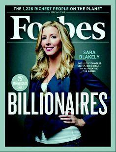 SPANX - Forbes - SARA Blakely
