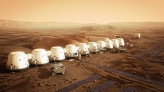 HiRes-settlement camera Mars-One concept