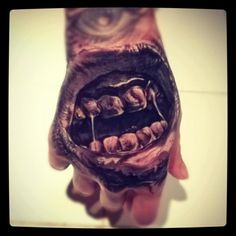 Love this hand tattoo