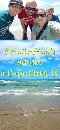 8 Family-Friendly Activities in Corpus Christi, TX [AD] Texas Beach Vacation, Family Vacations In Texas, Family Vacation Spots, Family Road Trips, Beach Trip, Family Travel, Vacation Ideas, Cruise Vacation, Disney Cruise