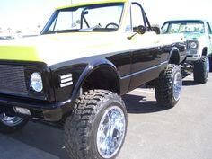 Lifted k5 blazer 1972 Chevy C10 6772 pickup Pinterest
