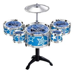 Children-Kids-Jazz-Beat-Sound-Drums-Kit-Play-Drums-Musical-Toy-Random-Color
