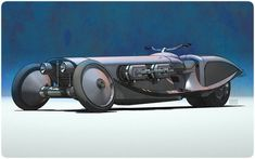 Dieselpunk trike with roadster stylings...I think I can make that