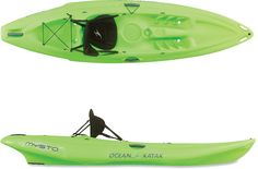 Looking for a kayak ... maybe a green one! Ocean Kayak Mysto Sit-On-Top Kayak at REI.com