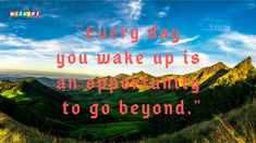 Motivational Good Morning Quotes are inspiring words which encourage everyone to welcome new fresh morning with new hope, spirit, passion, and liveliness. Motivational Good Morning Quotes, Beautiful Images, Encouragement, Neon Signs, Words, Horse
