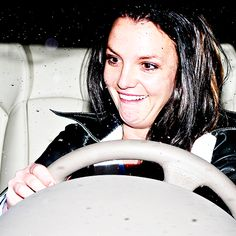 """""""Ommigersh! I'm dreevin' in the reen!"""" I wish I could be as blissfully happy as Britney Spears."""