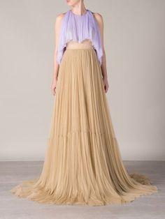 Delpozo Tulle Gown - D'na - Farfetch.com