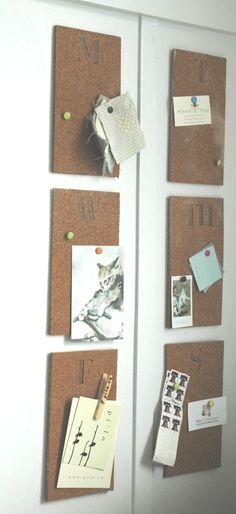 cork board organizat