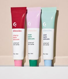 I'm Obsessed: Glossier Flavored BalmDotCom Trio | InStyle.com