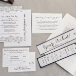 Classic Wedding Invites, Willow Valley Resort, Lancaster Weddings {Queen Bee Paperie}