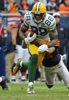 Green Bay Packers -- NFC North title  James Jones with 3 touchdowns.