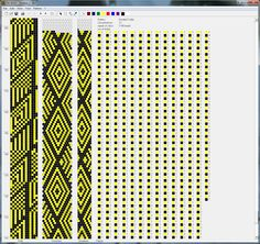 BeadedCrochet_GeometricSchemes - Mariam Nahapetyan 13 around Bead Crochet Patterns, Bead Crochet Rope, Beading Patterns, Crochet Beaded Necklace, Beaded Jewelry, Beaded Bracelets, Beaded Crochet, Free Crochet, Knit Crochet