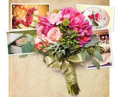 real flower boquet with broaches | Wedding Flowers: Arkansas Florists Create Bouquets that Inspire ...