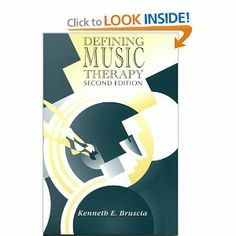 Defining Music Therapy: Kenneth E. Bruscia: 9781891278075: Amazon.com: Books