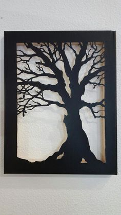 """Awesome """"metal tree art decor"""" detail is available on our internet site. Check it out and you will not be sorry you did. Metal Tree Wall Art, Metal Art, Tree Canvas, Canvas Art, Cut Canvas, Tree Artwork, 3d Laser, Kirigami, Christmas Tree Ornaments"""