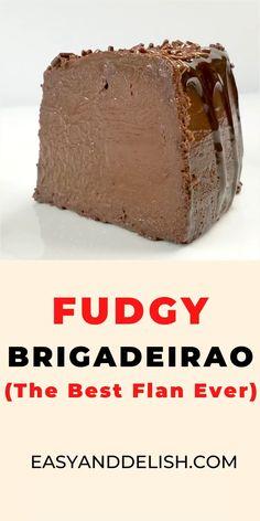 Chocolate Flan, Chocolate Desserts, Fun Baking Recipes, Sweet Recipes, Yummy Dessert Recipes, Gluten Free Desserts, Easy Desserts, Easy Delicious Desserts, Brazilian Chocolate