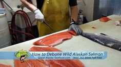 Great Alaska Seafood: 866 262 8846. They ship bulk for special occasions; whole salmon, wild Alaskan salmon, smoked fish, canned salmon, Alaskan halibut, wild whitefish, Alaskan king crab, wild shelfish, gourmet lobster, sushi specialties, sauces, and spices.