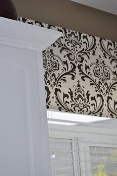 Awesomely easy window treatment