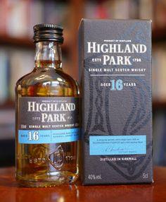 The Highland Park 16 Year Old Single Malt Scotch Whisky