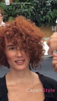 Short Curly Bob Haircut, Short Curly Cuts, Short Curly Hairstyles For Women, Short Sassy Haircuts, Thick Curly Hair, Haircuts For Curly Hair, Curly Hair Cuts, Teen Hairstyles, Short Hair Cuts For Women