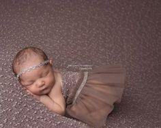 Newborn Romper Prop Girl Romper Lace by LovelyBabyPhotoProps