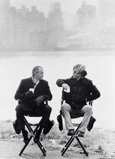 Richard Helms & Robert Redford