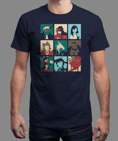 """""""Final PopArt"""" is today's £8/€10/$12 tee for 24 hours only on www.Qwertee.com Pin this for a chance to win a FREE TEE this weekend. Follow us on pinterest.com/qwertee for a second! Thanks:)"""