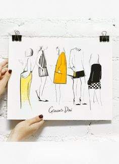 GIRLS | Garance Dore #illustration