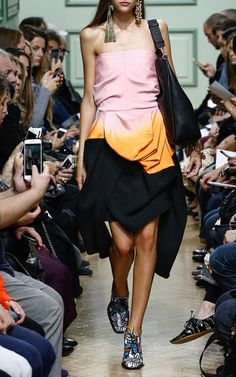 Strapless Corset Crepe Dress by J.W. ANDERSON for Preorder on Moda Operandi