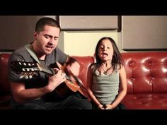 Rolling in the Deep - Adele Acoustic Cover (Jorge and Alexa Narvaez) cutest thing ever