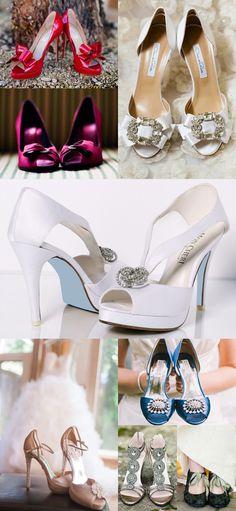 Ya no son tan blancos!!!! Shoe Love - Mon Cheri Bridals