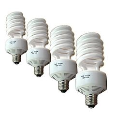 Full Spectrum Photo Flourescent Light Bulbs, PBL 50 Watt CFL 5100k Natural Daylight Balanced Pure White Case of 4 by PBL by PBL. $27.95. This is a set of 4 PBL 50 watt  photographic fluorescent light bulbs. These bulbs have a color temperature of 5100k daylight. Each bulb is the equivalent of 150 true watts  of tungsten light. You will get very accurate color reproduction with your video or digital camera, no need to use filters for color corrections. These lights are...