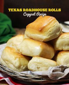 My go-to recipe for buns, bread, cinnamon buns and everything!  SO GOOD!  Copycat Texas Roadhouse Rolls - My Honeys Place