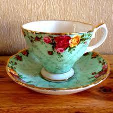 Resultado de imagen de tazas antiguas de porcelana