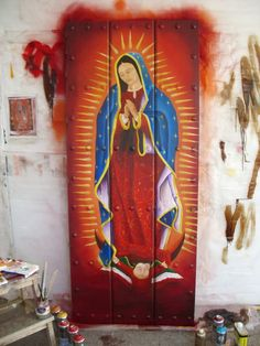 Beautiful - Our Lady of Guadalupe I Love You Mother, Mother Mary, Altar, Virgin Mary Art, Chicano Love, Images Of Mary, Saints And Sinners, Mama Mary, Holy Mary